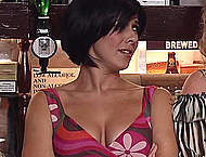 Kym Marsh sexy movie captures from Corrie