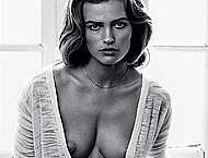 Edita Vilkeviciute black-&-white nude photos