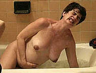 Gaby Hoffmann fully nude pregnant movie caps