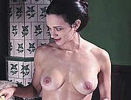 Asia Argento nude movie caps from Dracula