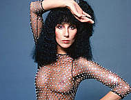 Cher sexy and see through scans from mags