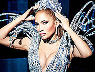 Jennifer Lopez sexy and see through mag photos