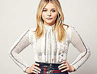 Chloe Moretz Peoples Choice award photocall