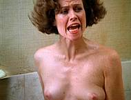 Sigourney Weaver naked in bathtub movie scenes
