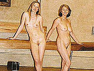 Charlotte Rampling shows nude tits and pussy