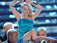 Kylie Minogue in the contest for Miss Italia