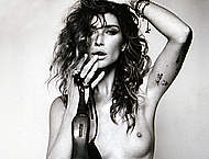 Erin Wasson sexy, topless & fully nude scans