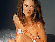 Julianne Moore sexy posing scans from mags